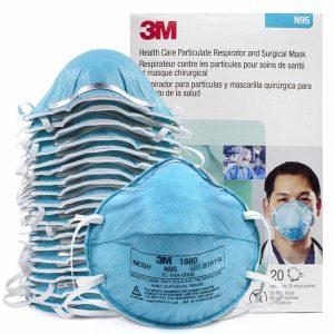 3M 1860 – N95 Respirator 20/Box