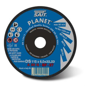 SAIT Planet A30Q Steel Grinding Disc 115mm
