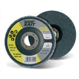 SAITPOL Unitized Non-Woven Polishing Disc